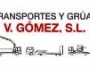 TRANSPORTES Y GRÚAS V. GÓMEZ