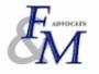 F&M ADVOCATS
